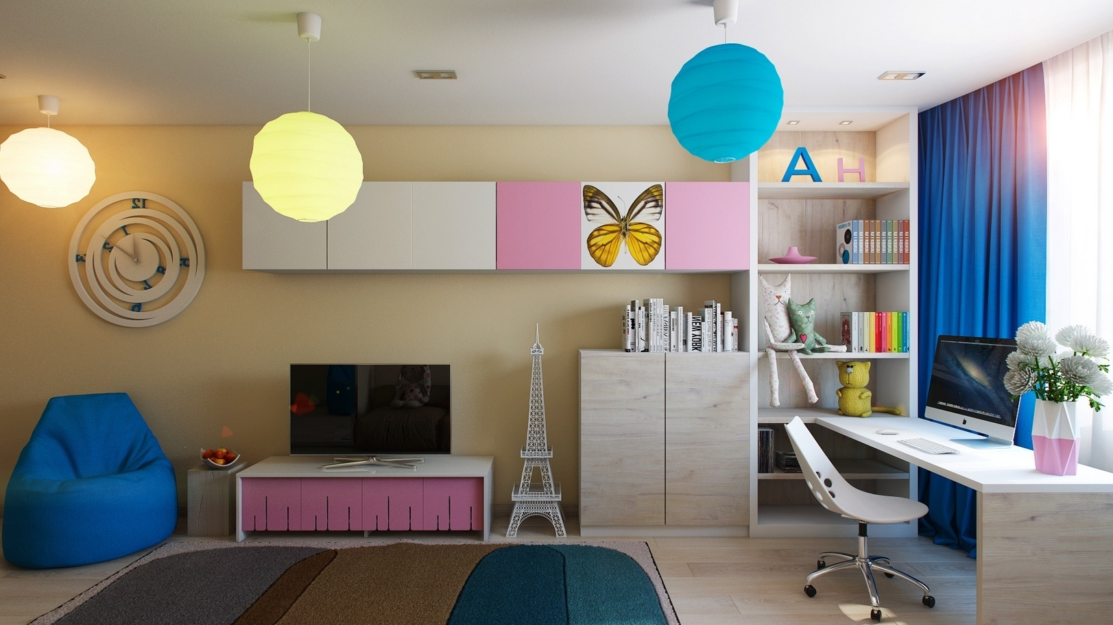 perfect design styles of children s room glamspaces. Black Bedroom Furniture Sets. Home Design Ideas